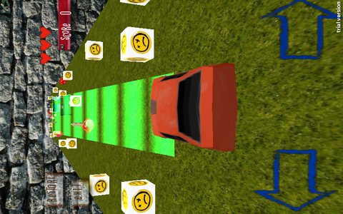 Screenshot 3D Car Shift