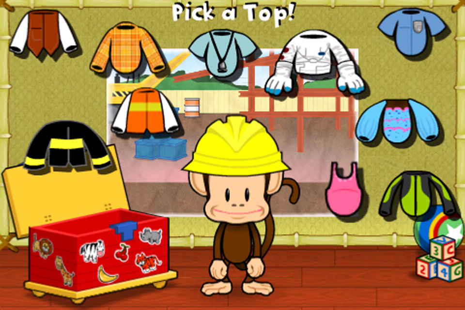 Screenshot Monkey Preschool: When I Grow Up